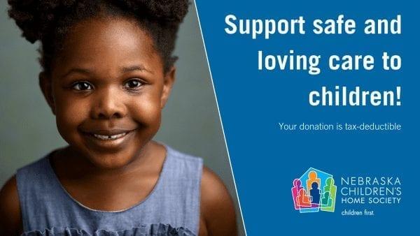Give a Donation today to Nebraska Children's Home Society adoption agency.