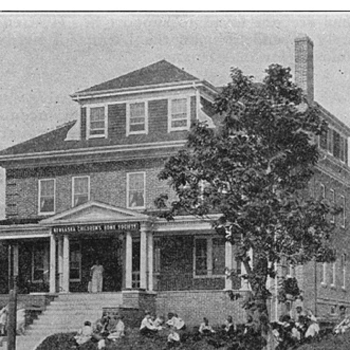 1924 – Fontenelle Receiving Home built